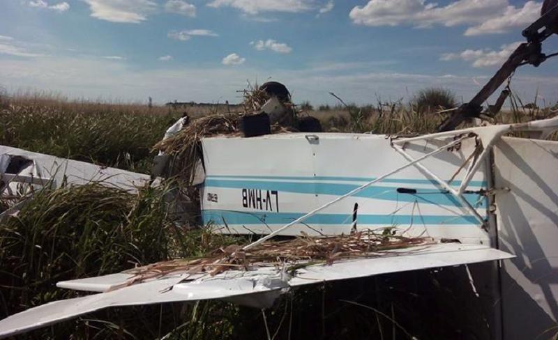 Cae una avioneta de publicidad en el aeródromo de Santa Teresita - 0223 Diario digital de Mar del Plata