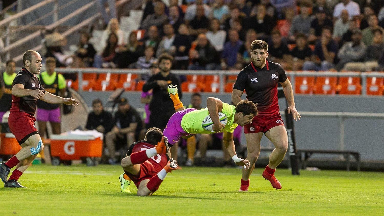 Rugby de primer nivel con Jaguares y Georgia XV