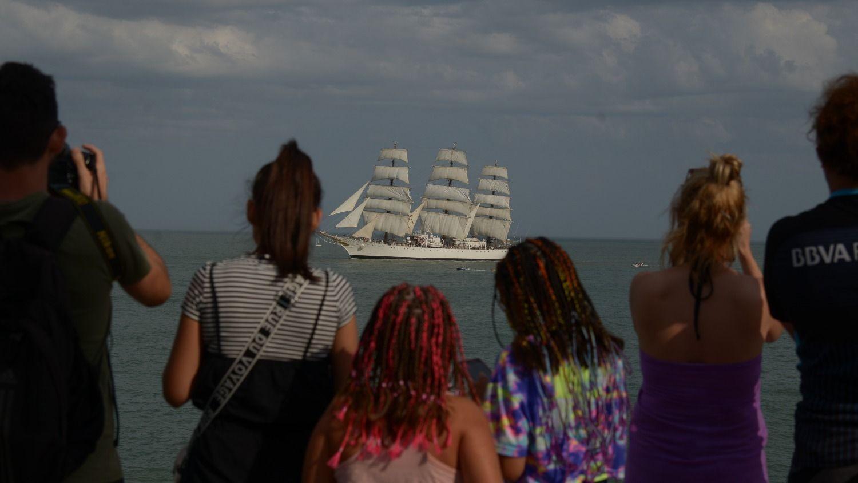 La fragata Libertad llega a Mar del Plata este fin de semana