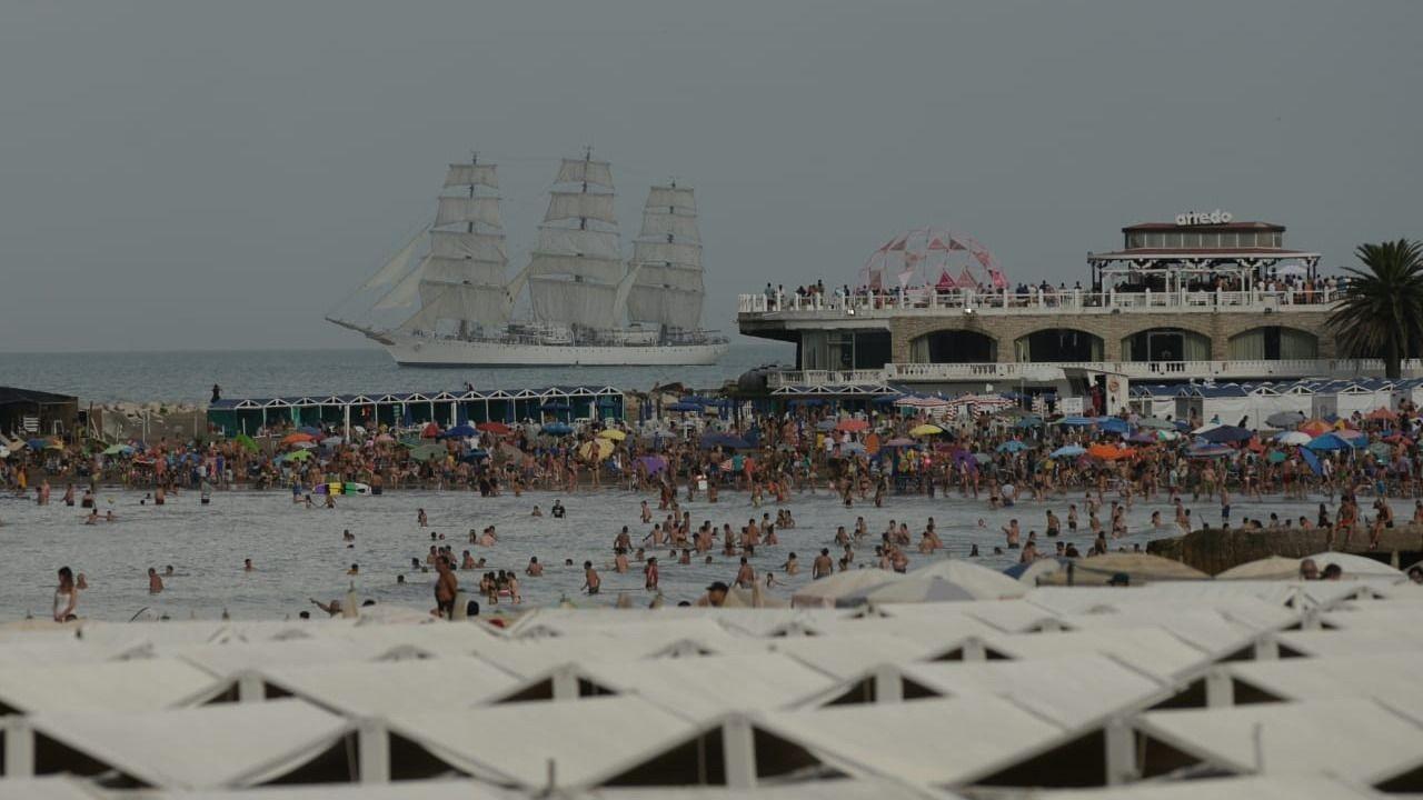 La Fragata Libertad amarró hoy luego de 5 meses de navegación