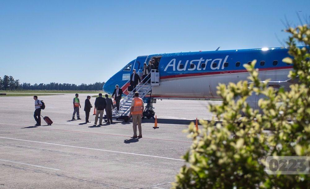 El aeropuerto de Mar del Plata registró el mayor crecimiento de ...