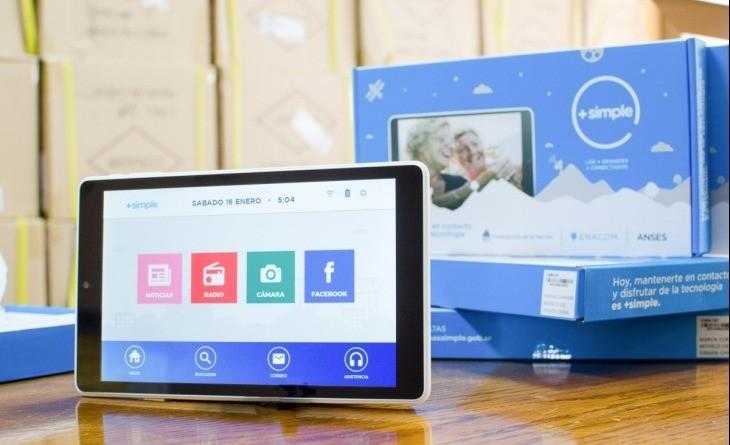 Volverán a sortear 3 000 tablets a jubilados por el programa
