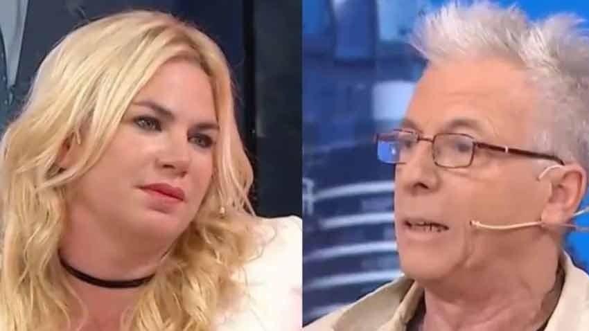 Gerardo Romano se cruzó con Esmeralda Mitre — Escándalo